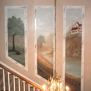 French Country Mural