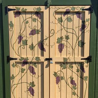 Grape Vine Door Design