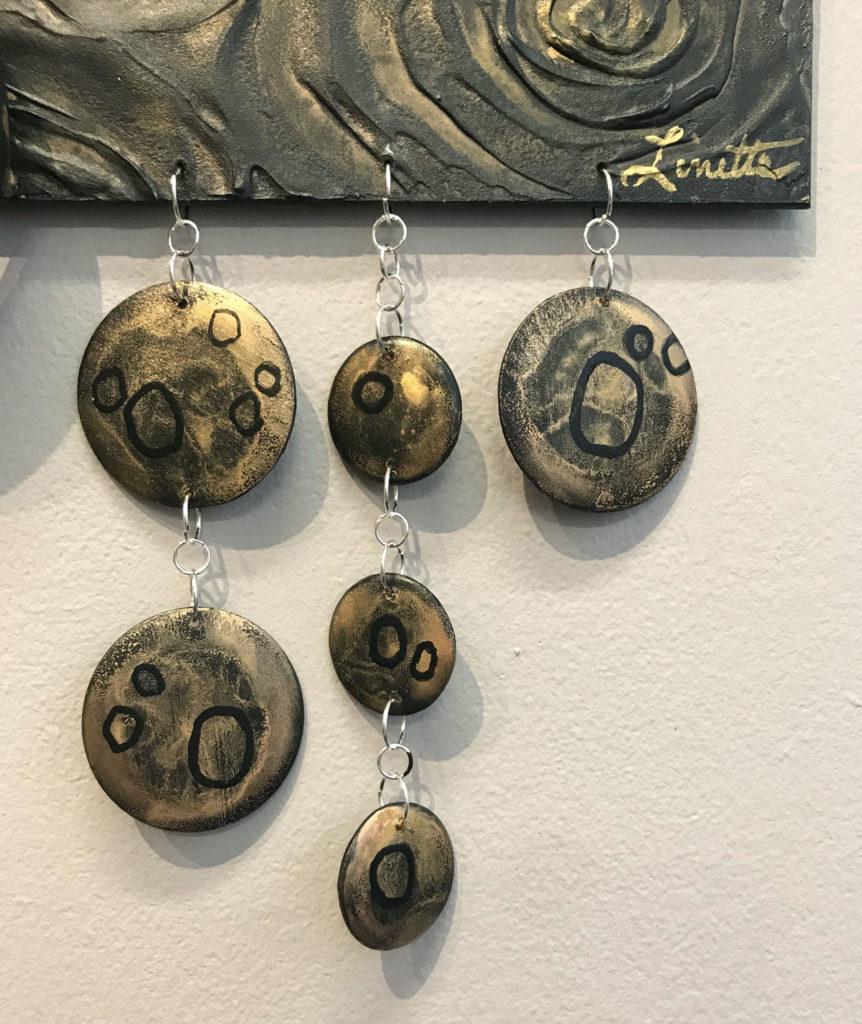 Hollow hanging art