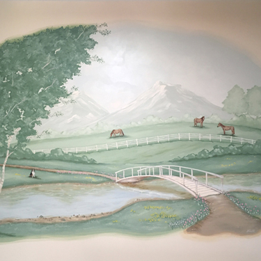 Horse Country Mural