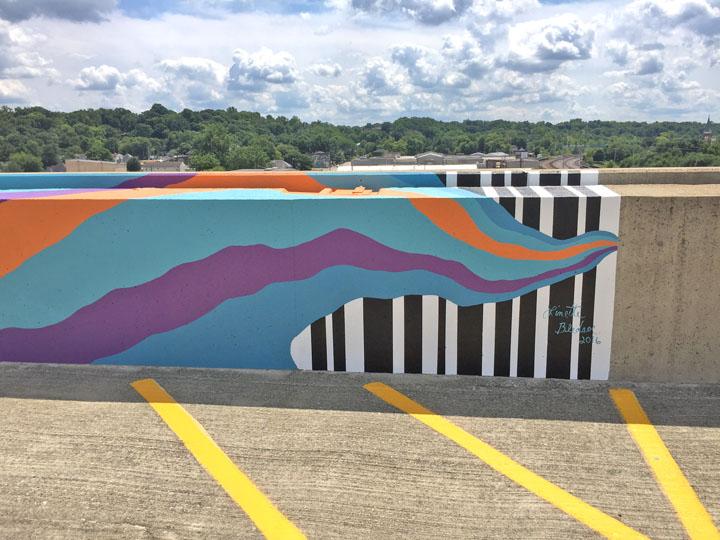 Lafayette Mural SE