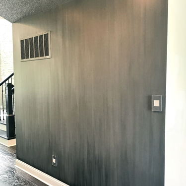 Ombre Waterfall Faux Finish