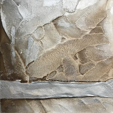 Silver Slumber easel painting