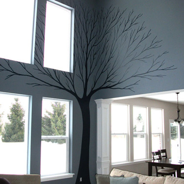 Leafless Tree Design